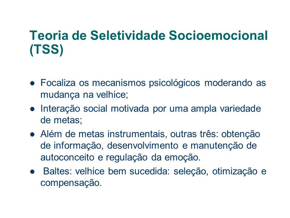 Teoria de Seletividade Socioemocional (TSS)