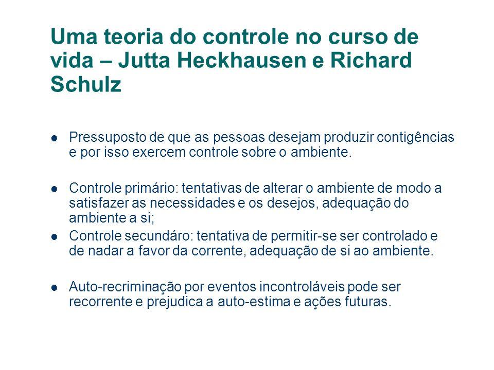 Uma teoria do controle no curso de vida – Jutta Heckhausen e Richard Schulz