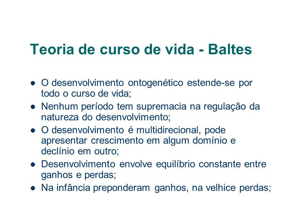 Teoria de curso de vida - Baltes
