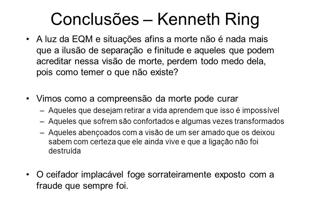 Conclusões – Kenneth Ring