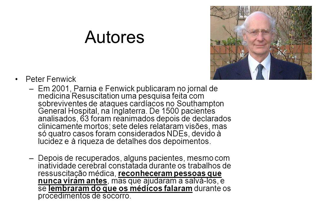 Autores Peter Fenwick.