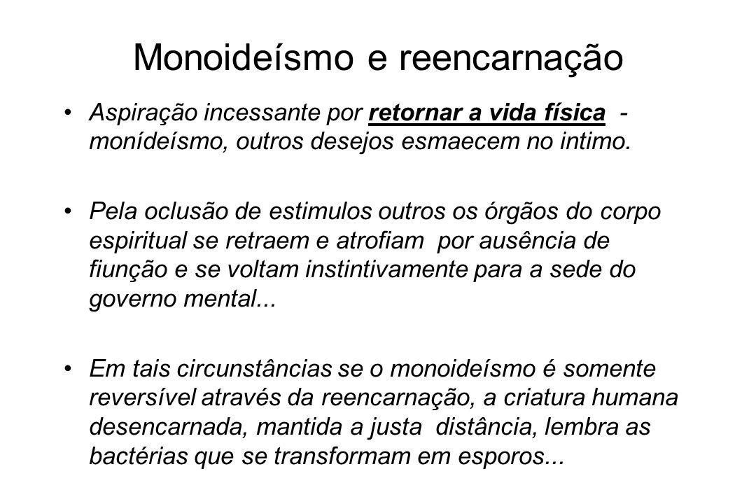 Monoideísmo e reencarnação