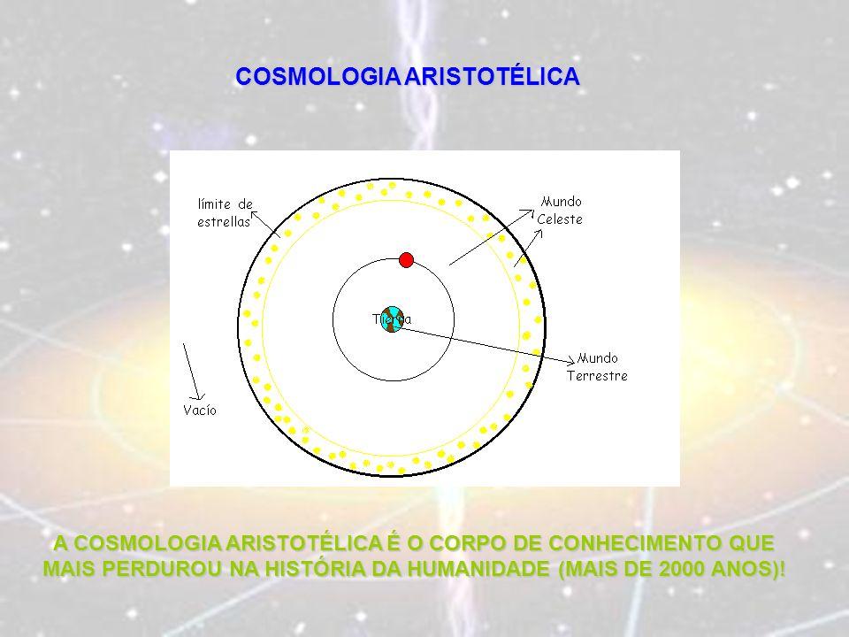 COSMOLOGIA ARISTOTÉLICA