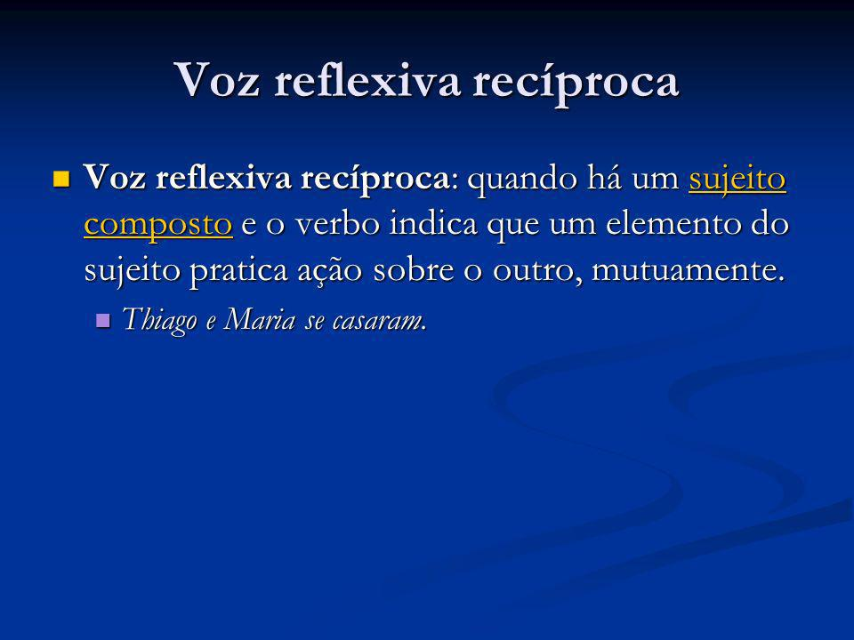Voz reflexiva recíproca