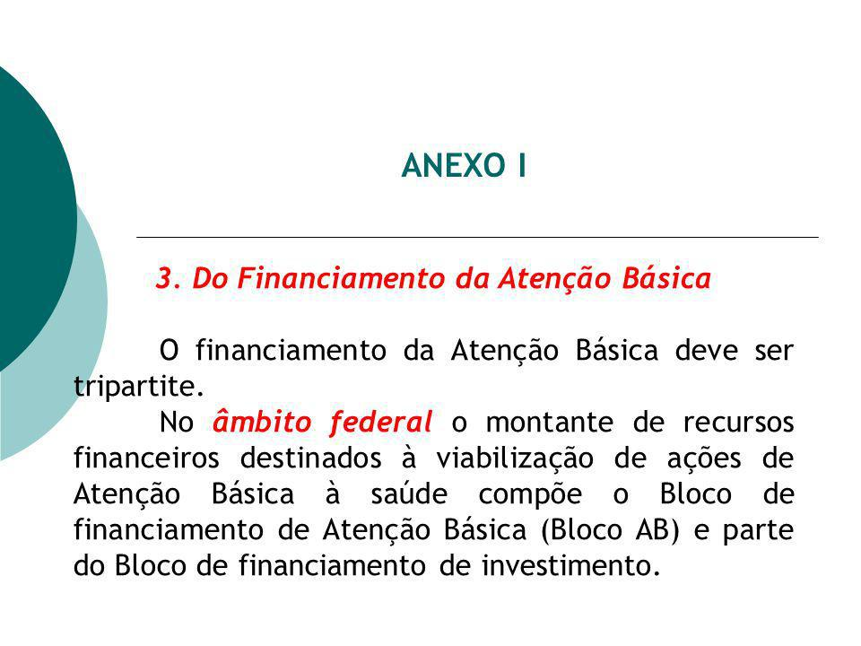 3. Do Financiamento da Atenção Básica