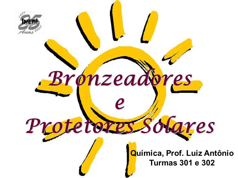 Química, Prof. Luiz Antônio Turmas 301 e 302