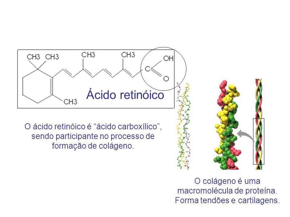 Ácido retinóico O ácido retinóico é ácido carboxílico ,