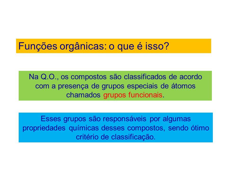 Funções orgânicas: o que é isso