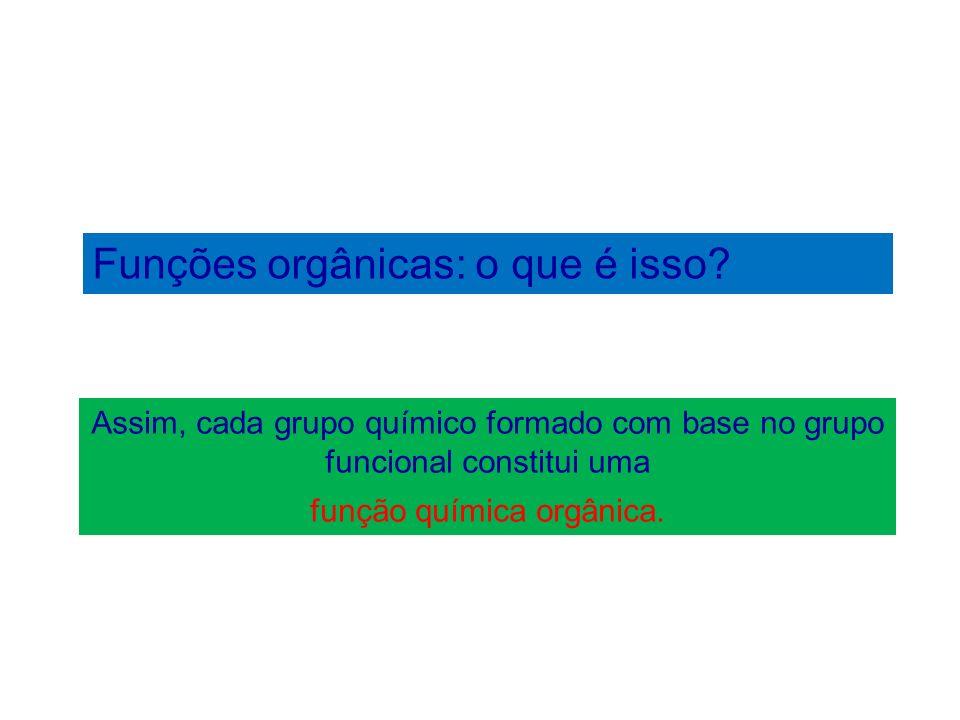 função química orgânica.