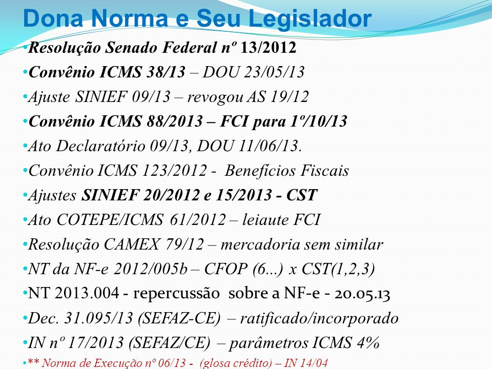 Dona Norma e Seu Legislador
