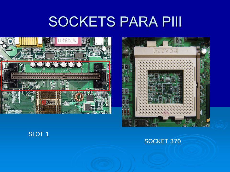 SOCKETS PARA PIII SLOT 1 SOCKET 370