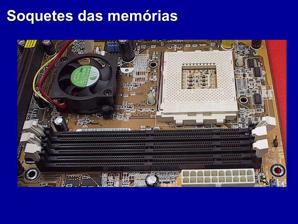 Soquetes das memórias