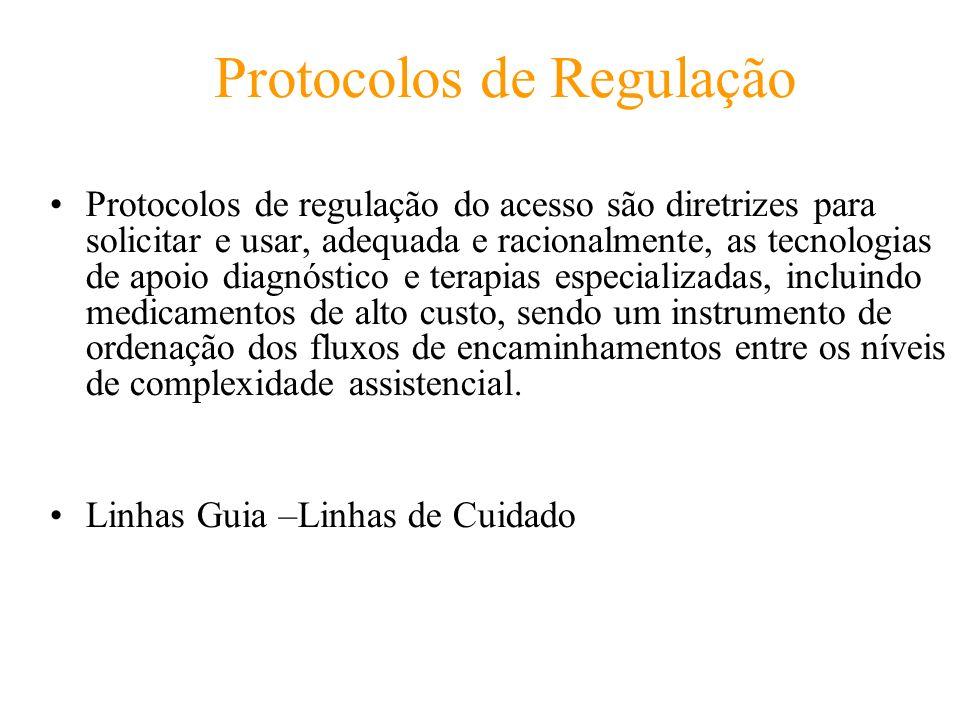 Protocolos de Regulação