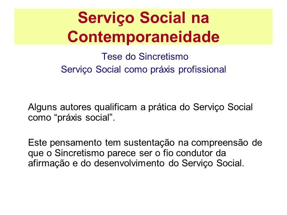 Serviço Social na Contemporaneidade