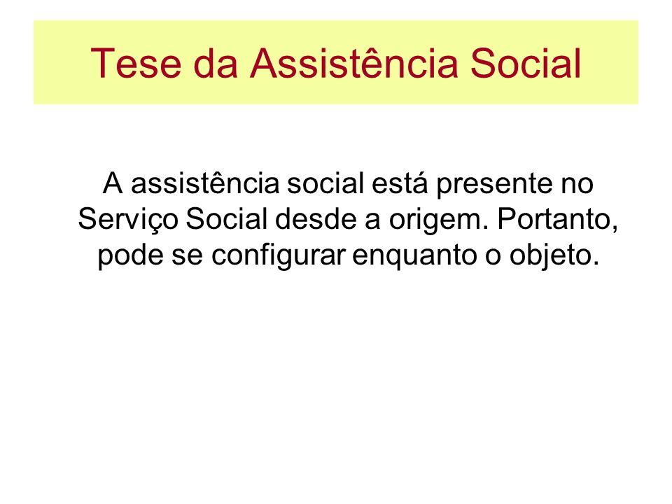 Tese da Assistência Social