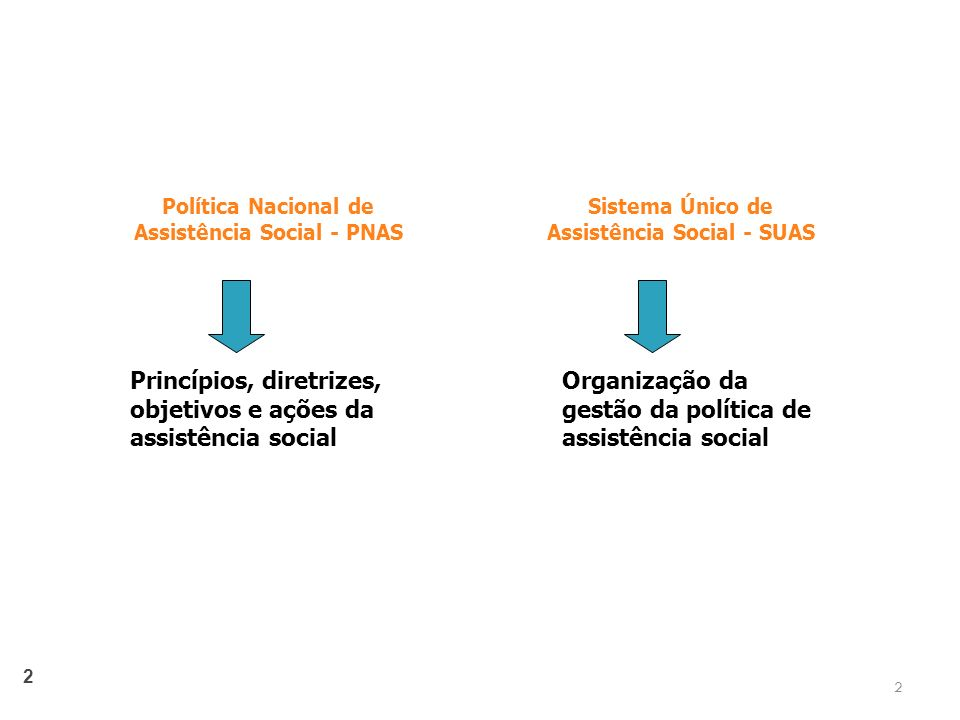Princípios, diretrizes, objetivos e ações da assistência social