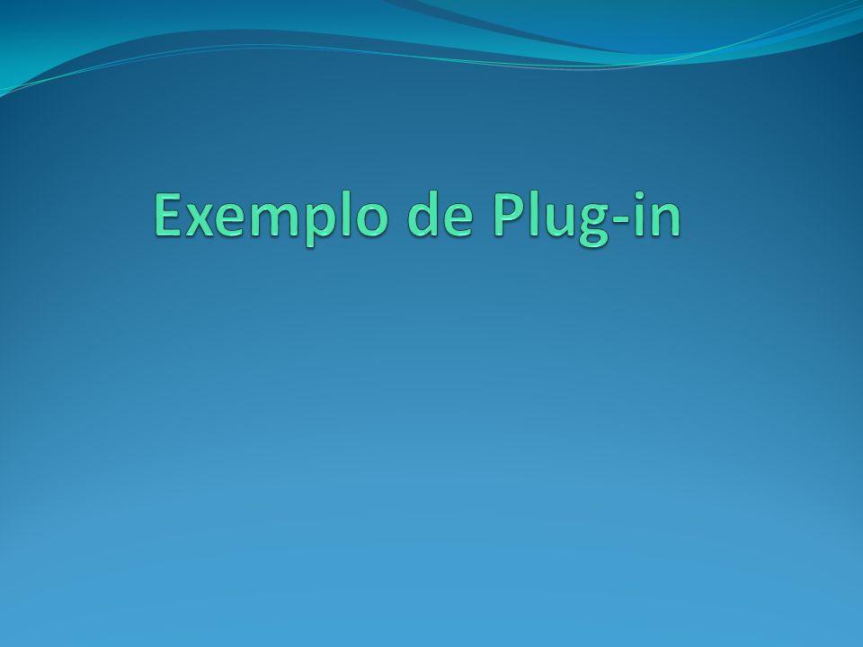 Exemplo de Plug-in