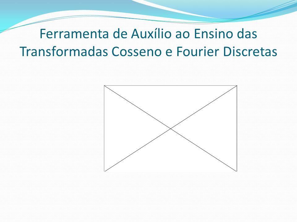 Ferramenta de Auxílio ao Ensino das Transformadas Cosseno e Fourier Discretas