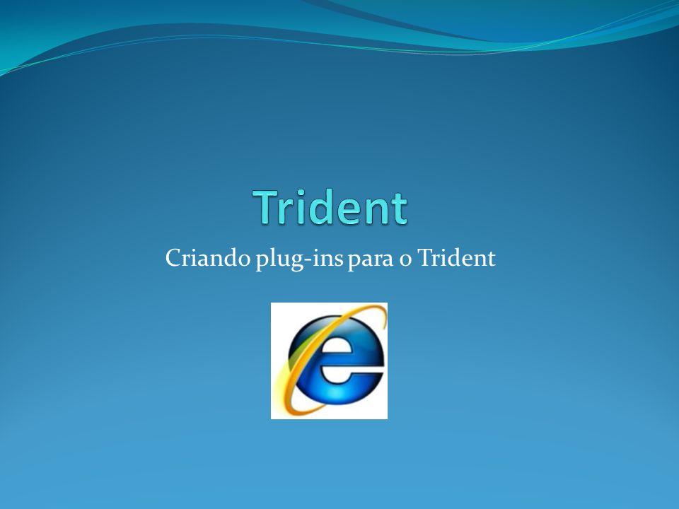 Criando plug-ins para o Trident