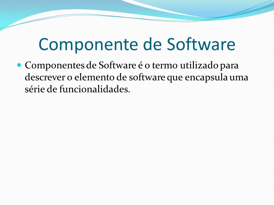 Componente de Software