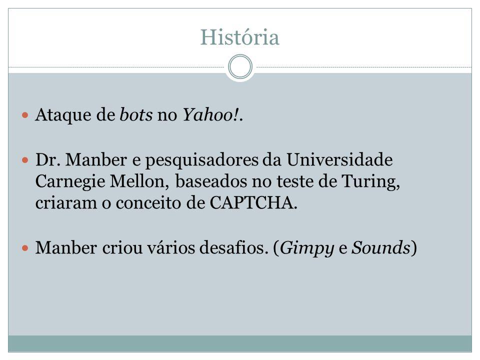 História Ataque de bots no Yahoo!.