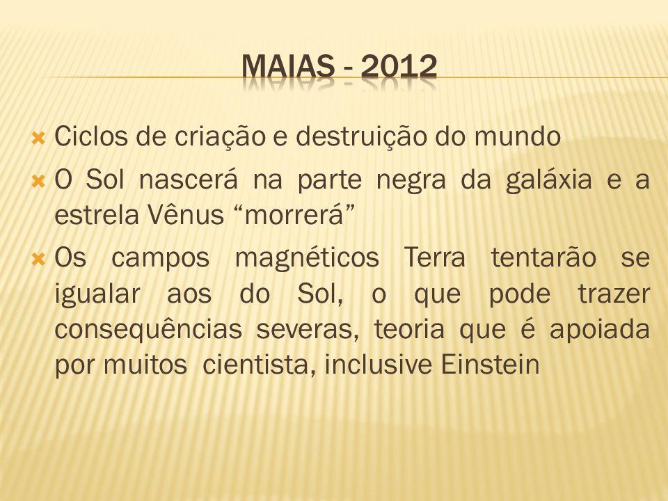 Maias - 2012 Ciclos de criação e destruição do mundo