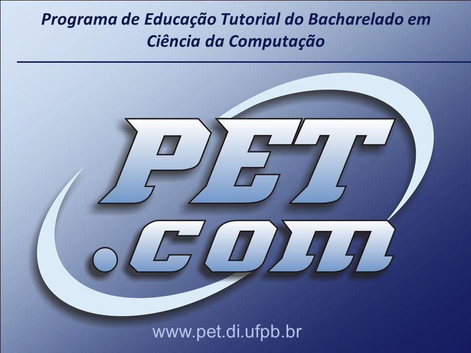 Programa de Educação Tutorial do Bacharelado em Ciência da Computação