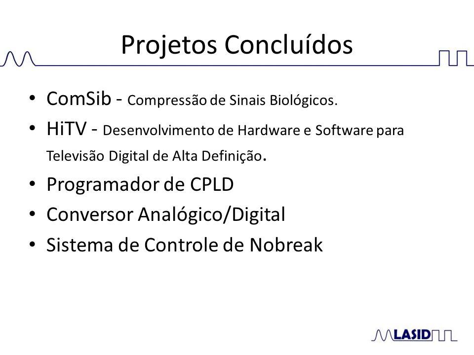 Projetos Concluídos ComSib - Compressão de Sinais Biológicos.