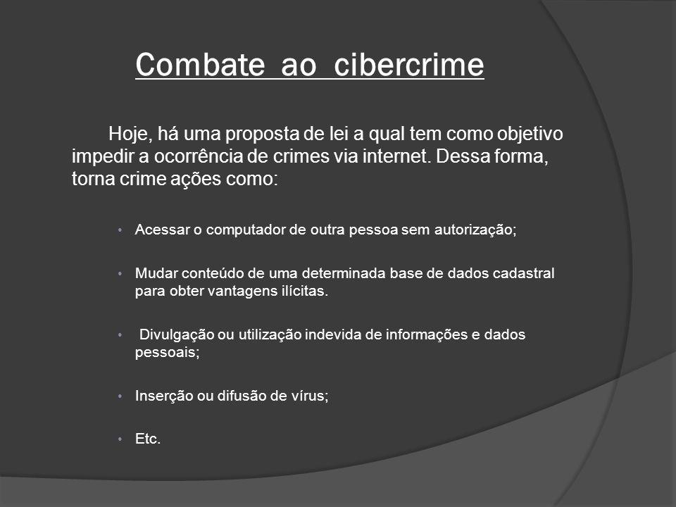 Combate ao cibercrime