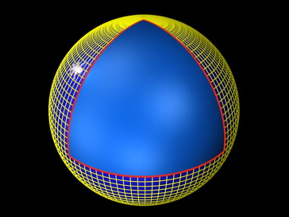 A soma dos angulos do triangulo provou que seu espaço era plano e infinito