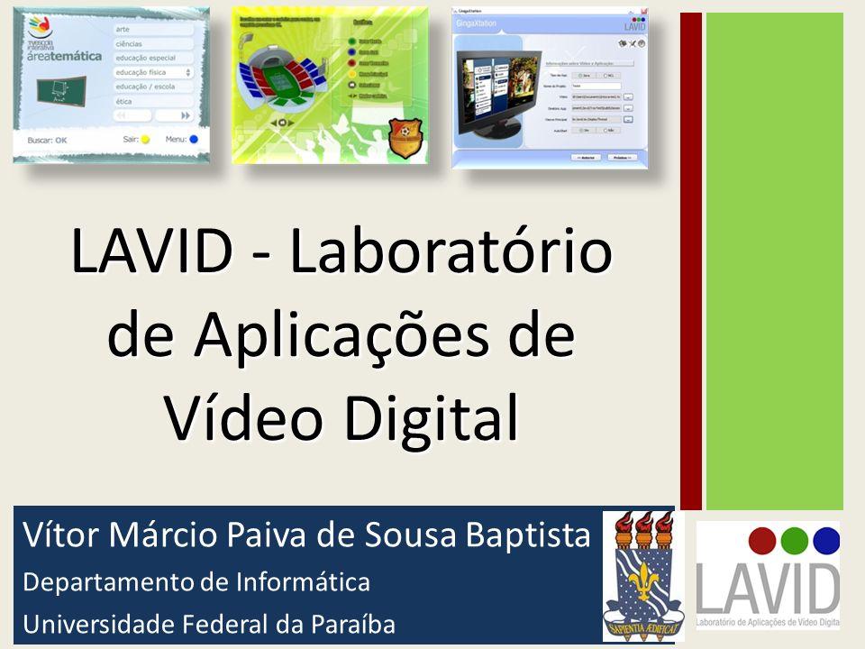 LAVID - Laboratório de Aplicações de Vídeo Digital