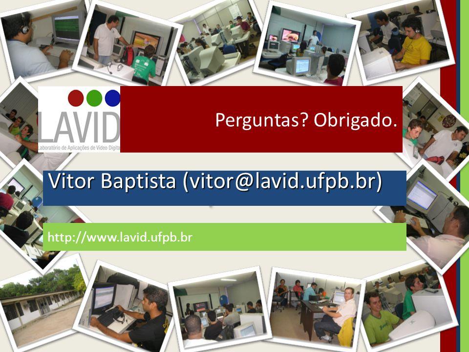Vitor Baptista (vitor@lavid.ufpb.br)