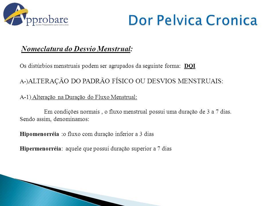 Dor Pelvica Cronica