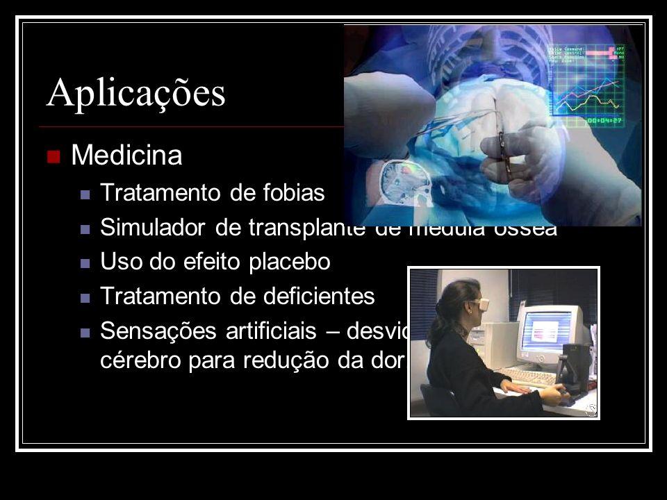 Aplicações Medicina Tratamento de fobias