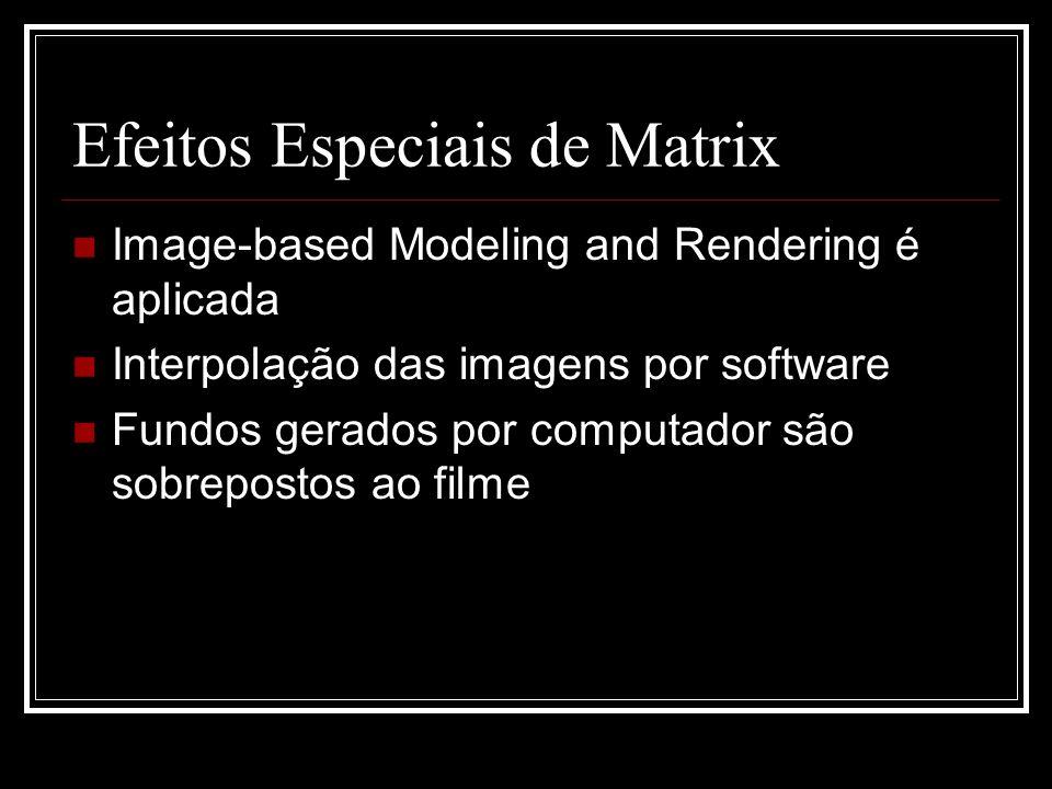 Efeitos Especiais de Matrix