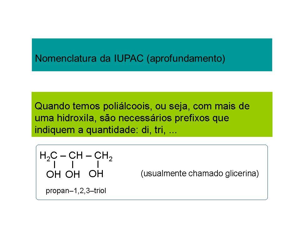 Nomenclatura da IUPAC (aprofundamento)