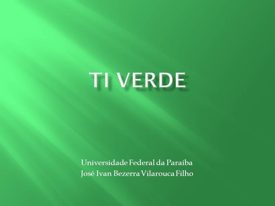 Universidade Federal da Paraíba José Ivan Bezerra Vilarouca Filho