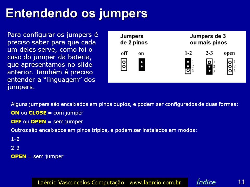 Entendendo os jumpers