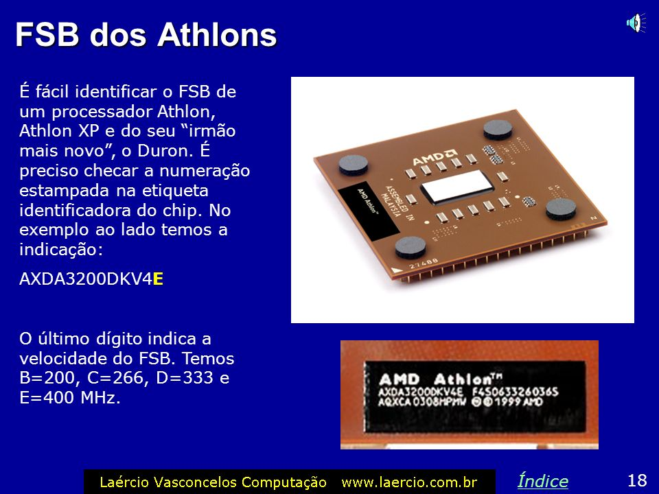 FSB dos Athlons