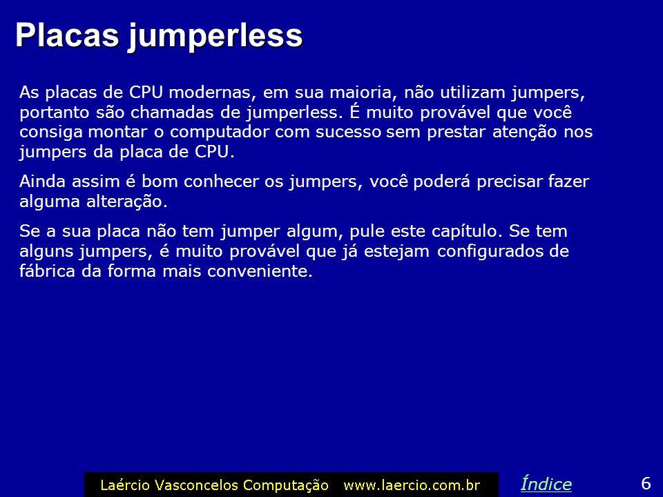 Placas jumperless