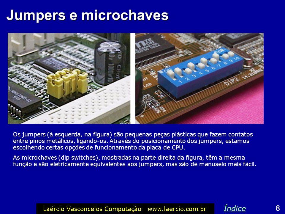 Jumpers e microchaves Índice 8