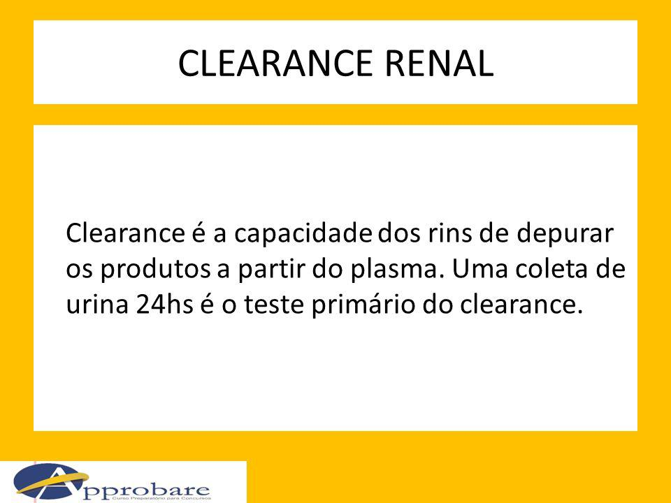 CLEARANCE RENAL