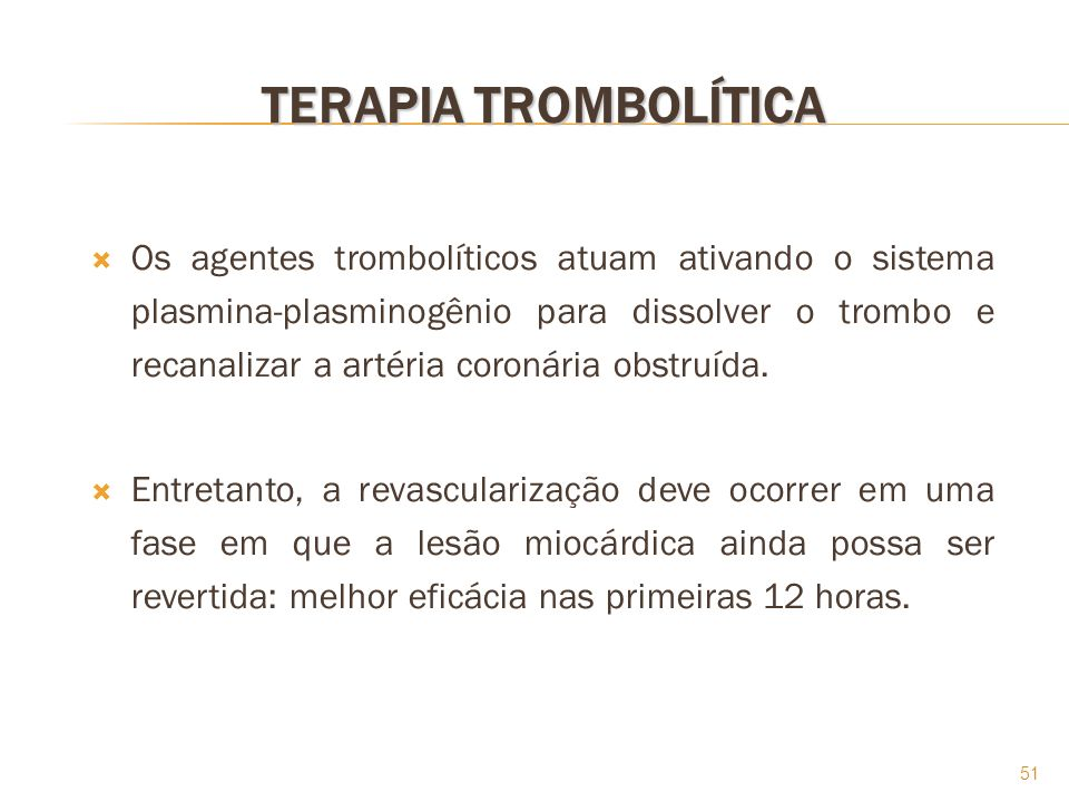 TERAPIA TROMBOLÍTICA