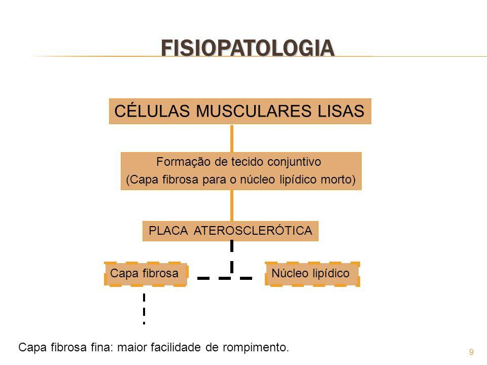 FISIOPATOLOGIA CÉLULAS MUSCULARES LISAS Formação de tecido conjuntivo