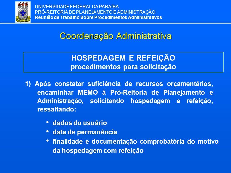 Coordenação Administrativa