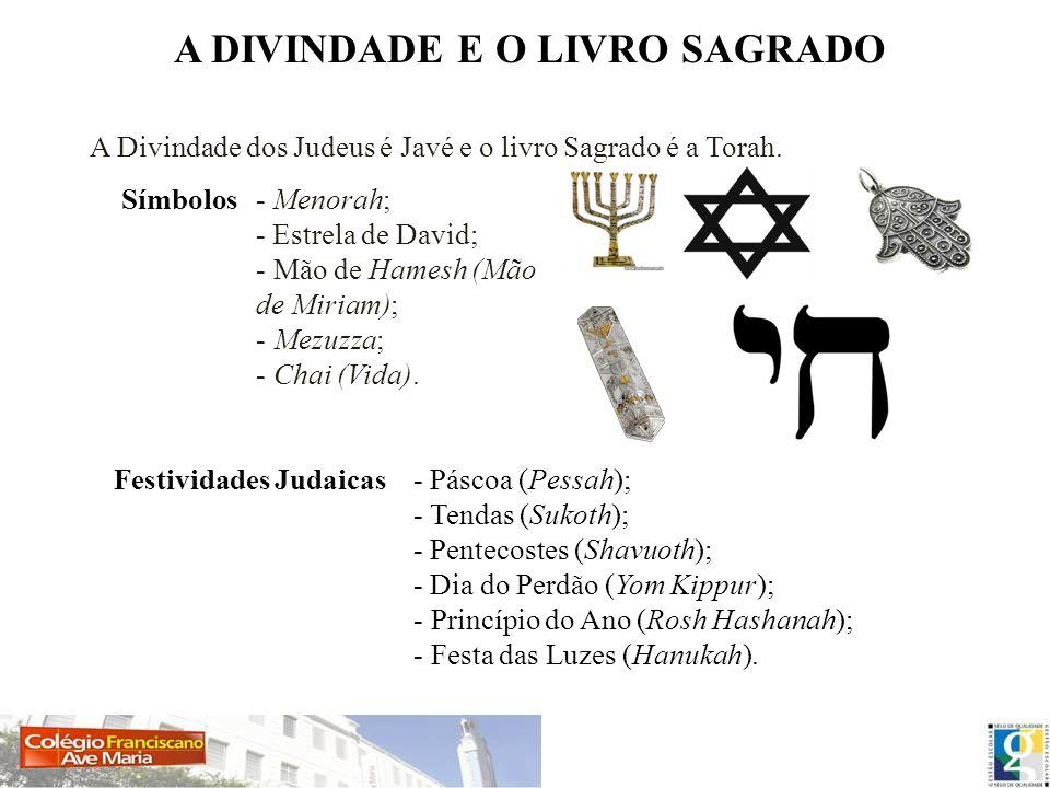 A DIVINDADE E O LIVRO SAGRADO Festividades Judaicas