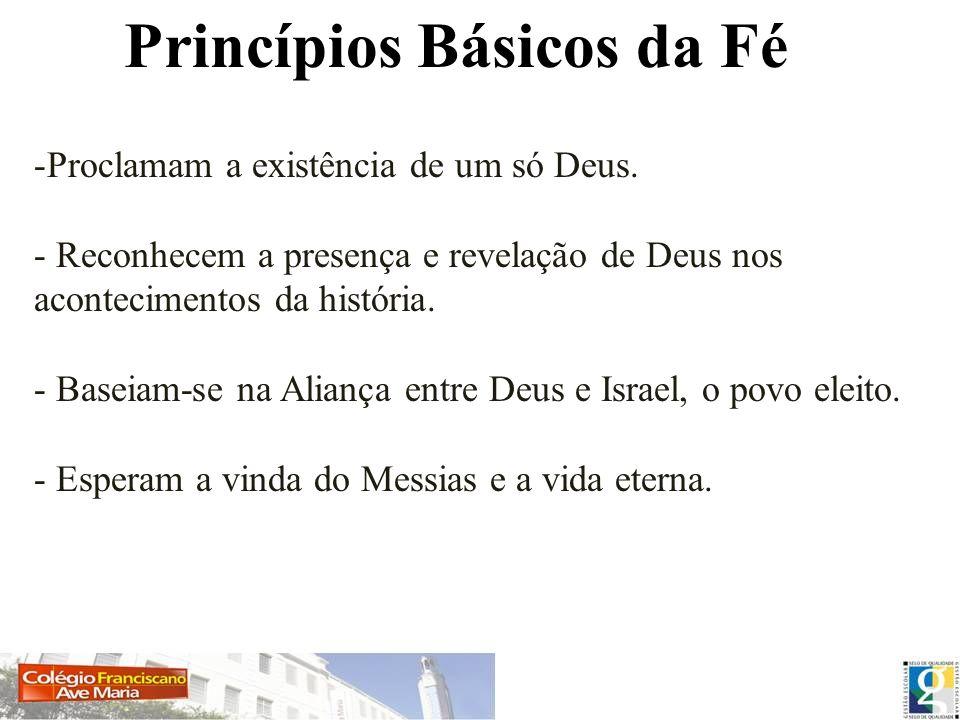 Princípios Básicos da Fé