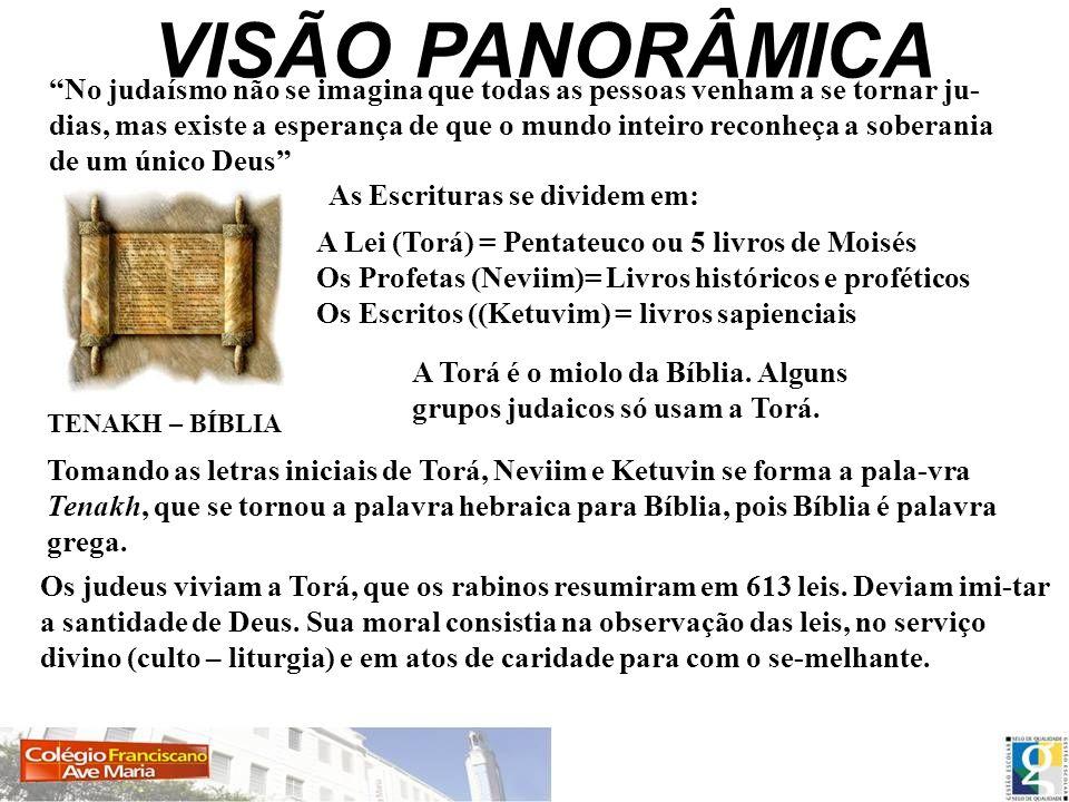 VISÃO PANORÂMICA