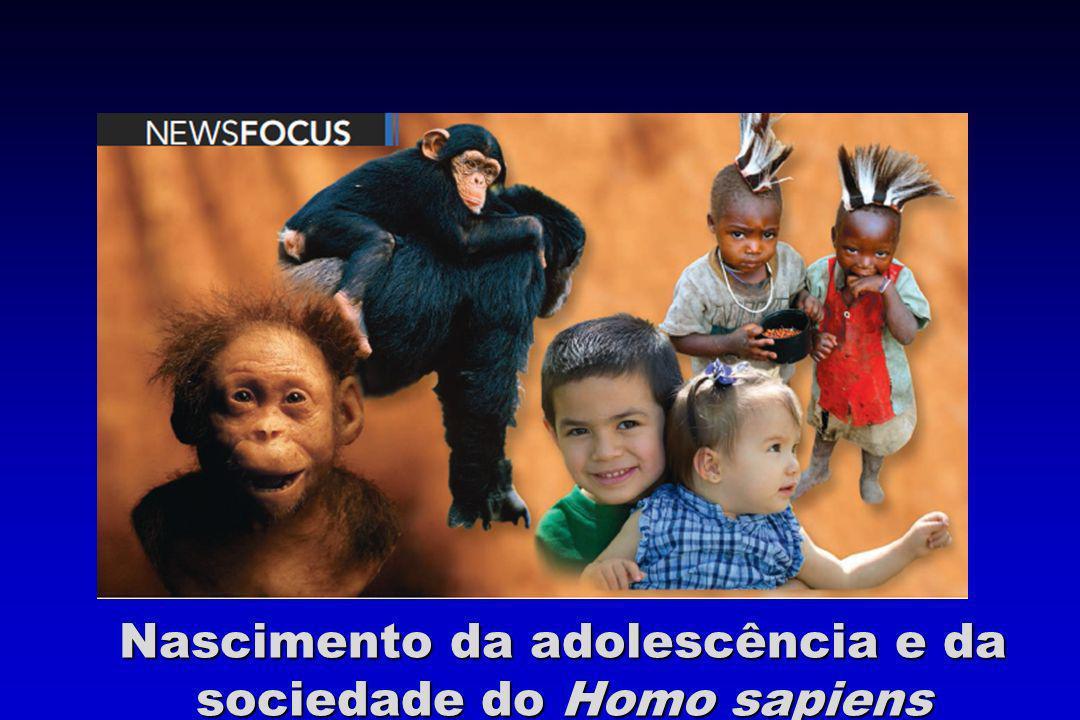 Nascimento da adolescência e da sociedade do Homo sapiens