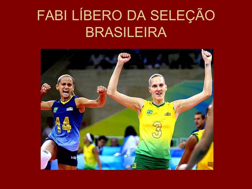 FABI LÍBERO DA SELEÇÃO BRASILEIRA